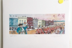 "Print of Cobourg Concert Band by Katie Flindall Full size 8 1/2"" x 11"" - $30"